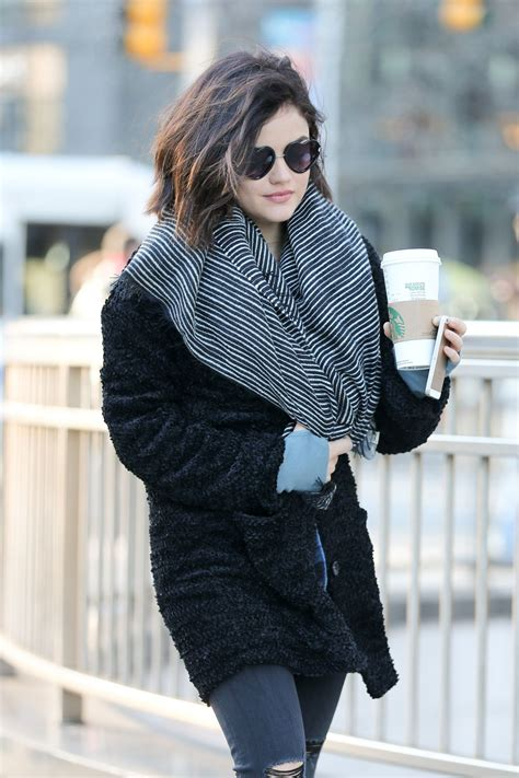 Lucy Hale Street Style - Out in New York City, January ...