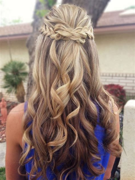 wedding hairstyles long hair half up half down hairstyle
