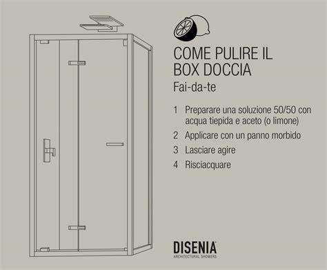 come pulire box doccia come pulire il box doccia prodotti e consigli utili