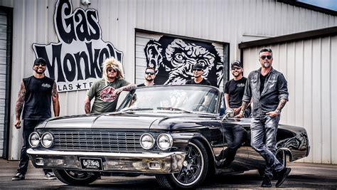 The Monkeys  Gas Monkey Garage  Richard Rawlings Fast