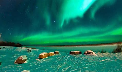 best places to see the northern lights inuvik northwest