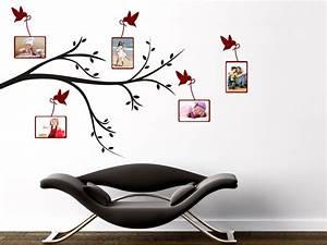 Wandtattoo Mit Bilderrahmen : wandtattoo v gel mit bilderrahmen bei ~ Bigdaddyawards.com Haus und Dekorationen