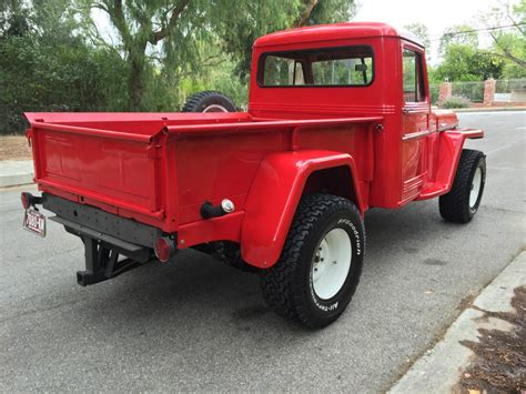 willys jeep pickup for sale 1957 jeep willys pick up truck off road for sale
