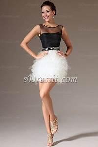 edressit nouveate 2014 robe de cocktail courte noir With robe de cocktail combiné avec bracelet noir