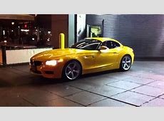 Citrus pkg Atacama Yellow BMW Z4 NYC YouTube