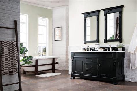 brookfield antique black double vanity bathroom vanity
