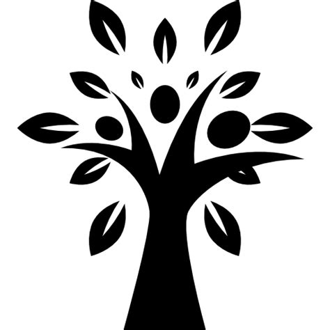 natural shapes leaves natural fruits tree tree shape