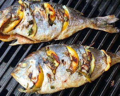 cuisiner une daurade recette dorade au barbecue facile rapide