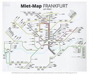 Mietpreise Berechnen : miet map frankfurt am main bulle und b r am mietmarkt ~ Themetempest.com Abrechnung
