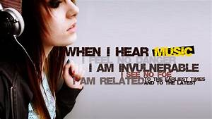 music quotes me... Girl Dj Quotes