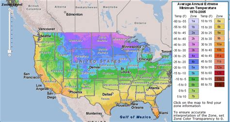 Usda New 'plant Hardiness Zone' Map Released Zdnet