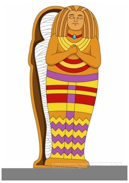 Mummy Egyptian Egypt Clipart Coffin Ancient Pharaoh