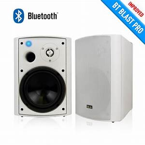 Bluetooth Outdoor Speaker With Long Range Bluetooth V4 0