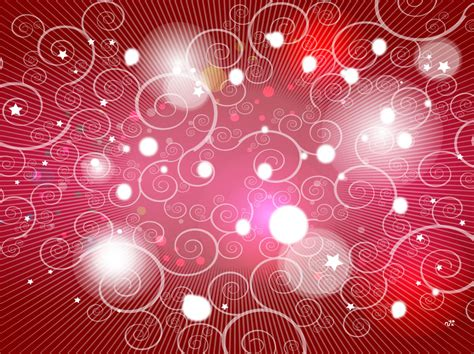 red spiral shapes background vector art graphics