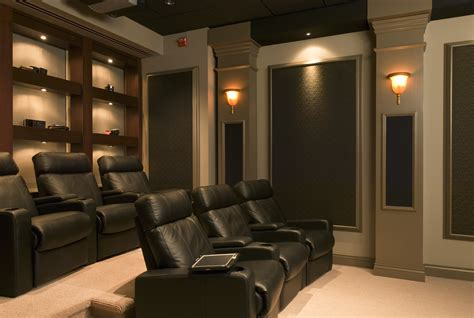 Media Room / Dedicated Home Theater-audio & Video Solutions