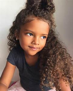 Sweety, so cute! Hairspiration Pinterest Curly bun, So cute and Cute hairstyles
