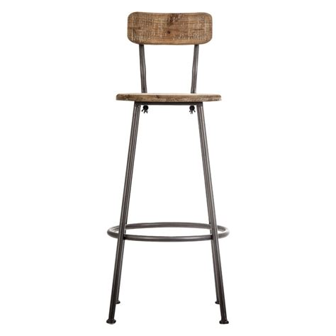 table haute de cuisine avec tabouret chaise bar industriel