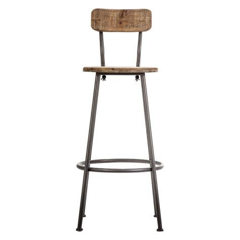 chaise de bar style industriel chaise bar industriel