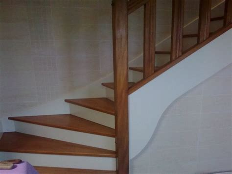 r 233 novation peinture et vitrification escalier sur le mans sarthe