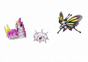 Pokemon Wurmple Evolution Chart Images | Pokemon Images