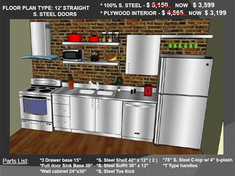 stainless steel kitchen cabinets cost low prices on stainless steel and plywood kitchen cabinets 8249