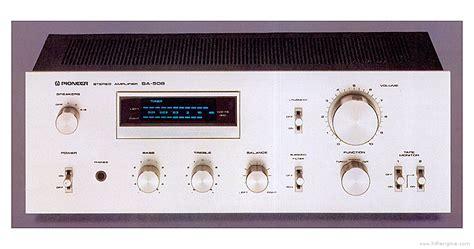 pioneer sa 508 manual stereo integrated lifier hifi engine - Pioneer Sa 508