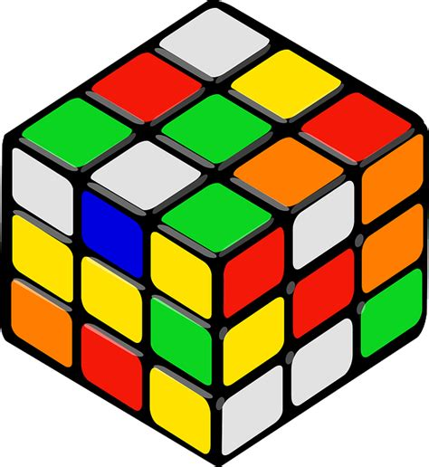 Free Vector Graphic Rubik's Cube, Cube, Puzzle, Game