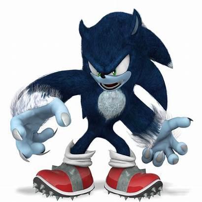 Sonic Werehog Render Nibroc Rock Deviantart Unleashed