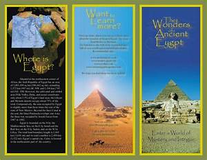 Brochure about egypt brochure designs pics for Ancient egypt brochure