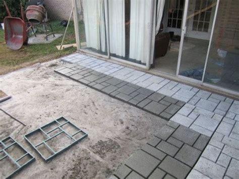 mold block paving concrete walk maker path decor garden