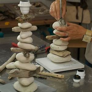 Fabriquer Une Lampe De Chevet : lampe de chevet bois flott beige lampe bois flott ~ Zukunftsfamilie.com Idées de Décoration