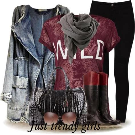 Casual outfits in maroon color u2013 Just Trendy Girls