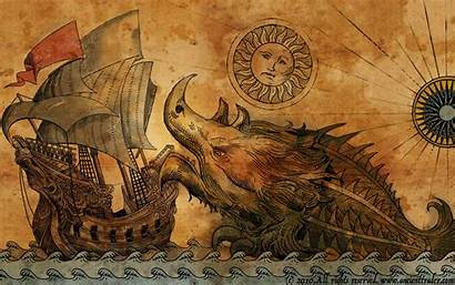 Ancient Trader Wallpapers Abyss Indie Sea Monster