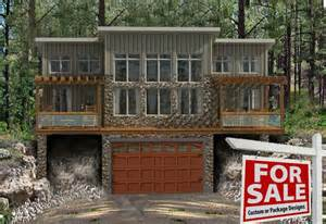 cabin plans with garage cottages alberta lakefront lots property