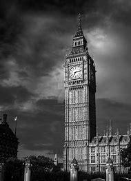 Big Ben Black and White