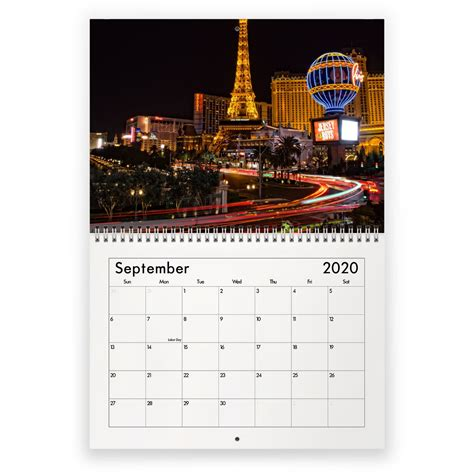 las vegas calendar