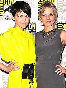 Once Upon a Time's Ginnifer Goodwin and Jennifer Morrison ...