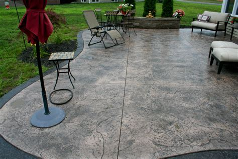 Patio Flooring Ideas Concrete by Sted Concrete Patio Floor Design Pattern With 10
