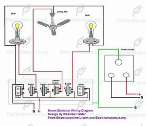Room Electrical Wiring Diagram