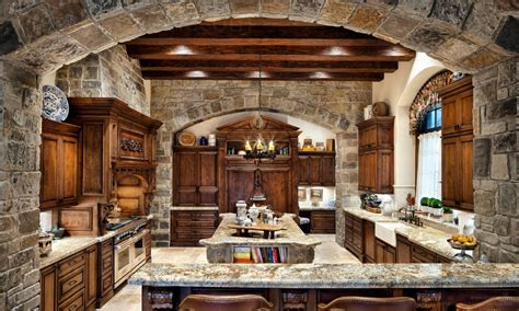 amazing  home kitchen english manor latest  rustic kitchen design rustic house