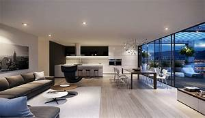 spacious modern living room interiors With modern home interior living room