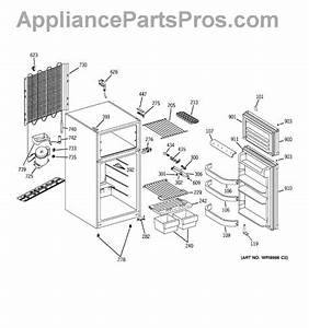 Parts For Ge Gfr12aamarww  Refrigerator Parts