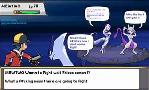 Gold and Lugia vs Mewtwo and Frieza ? Sprite Comic by ...