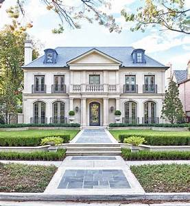 symmetrical homes exterior traditional with limestone