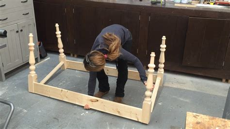 rustic dining table how to build a farmhouse table part 1 table base with