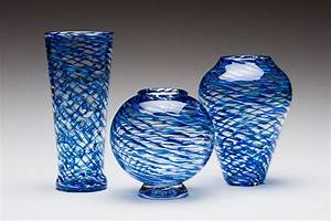 Ripple Vases by Kenny Pieper (Art Glass Vase) Artful Home