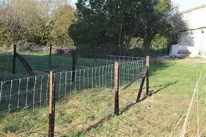 Poser Du Grillage : cloture maison grillage barriere amovible pour jardin ~ Premium-room.com Idées de Décoration