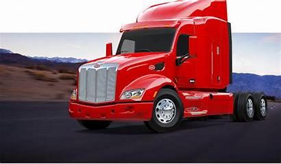 Truck Peterbilt Trucks Built Highway Task Every