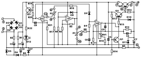 Vdc Stabilized Power Supply With Current Control
