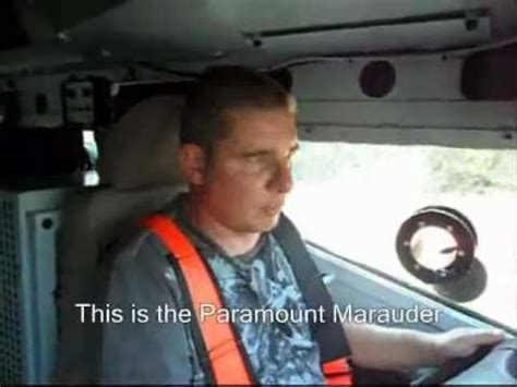 Marauder Armored Vehicle Cost by Paramount Marauder Review Wmv